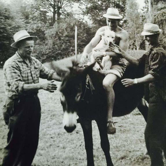 nonno  e zio Tino